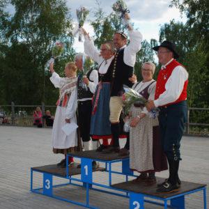 Vinnarpallen Seniorklass 2016 Foto Lars Forslund Tierp
