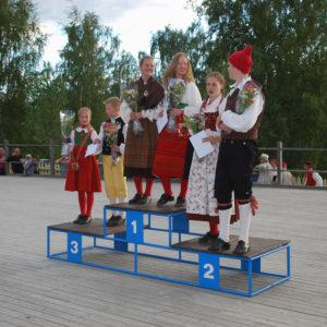 Vinnarpallen Ungdomsklass 2016 Foto Lars Forslund Tierp